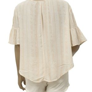 Urban Outfitters Tops - Ecote Urban Outfitters Gauze Bell Sleeve Top
